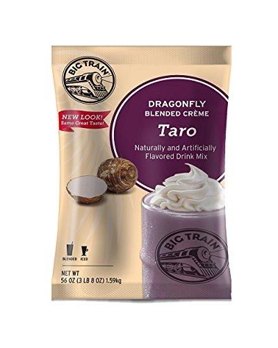 Big Train Dragonfly Blended Crme Frappe Mix Taro 3.5 Pound Bag