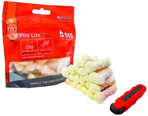 SOL Fire Lite - Kit accendifuoco unisex da adulto, colore: Bianco
