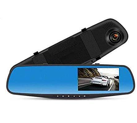【32GBカード付き】 ドライブレコーダー バックミラー型 リアカメラ 前後カメラ ミラーモニター HD1080P 4....