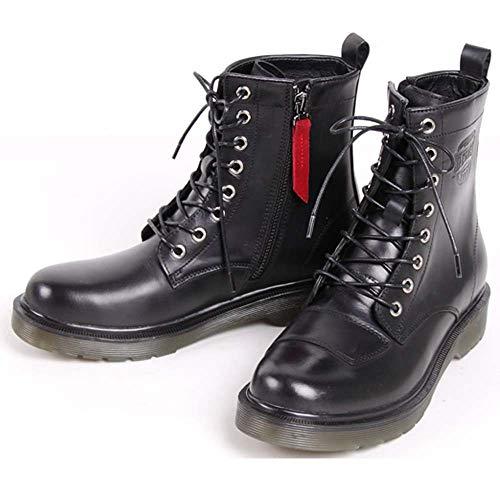 デグナー(DEGNER) レディースシフトガード付レザーZIPブーツ/LEATHER ZIP BOOTS WITH SHIFT GUARD ブラック 22.5cm HS-B8