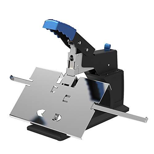 NEWTRY Professionale Cucitrice Manuale Binder Piatta e Sella Binder Stitcher Heavy Duty A3 A4 Formato Opuscolo Cucitrice Carta Pieghevole Binding Machine