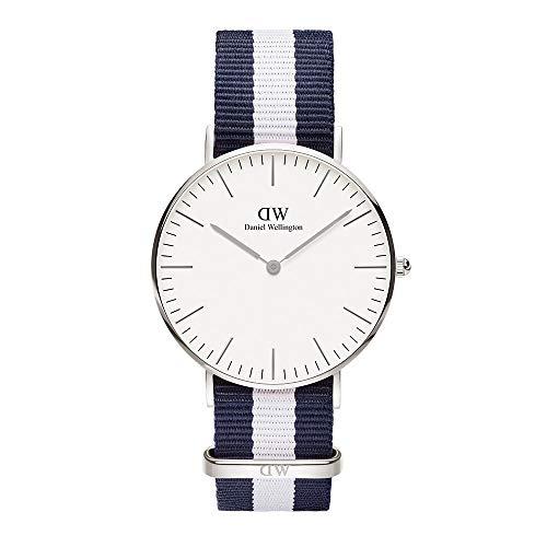 Daniel Wellington Damen Analog Japanese Quartz Uhr mit Natoband Armband DW00100047