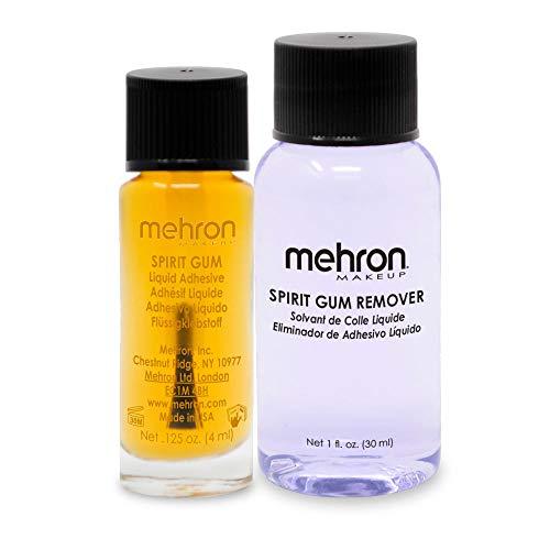 Mehron Makeup Spirit Gum & Remover Combo Kit