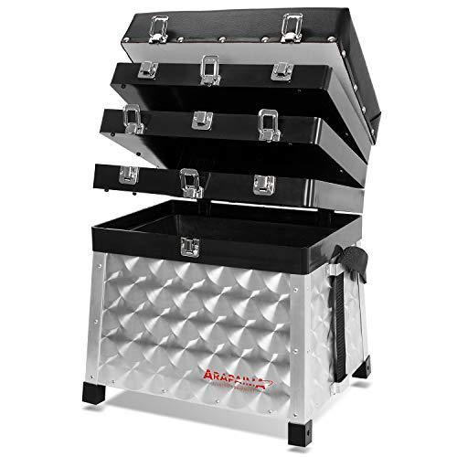 Arapaima Fishing Equipment Borsa da Pesca '4-drawer' | Cassetta di Immagazzinaggio | fishing tackle seat box