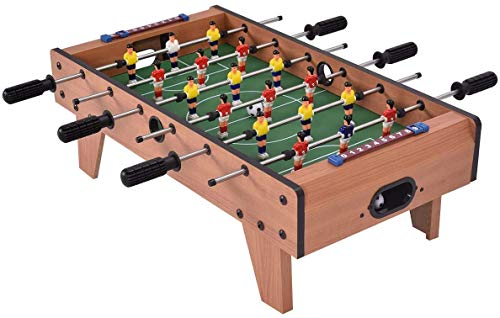Farraige Exclusive Big Indoor Foosball Table , Mini Football, Table Soccer Game, 6 Rods