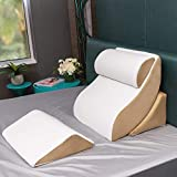 Avana Kind Bed Orthopedic Support Pillow Comfort System with Bamboo Cover