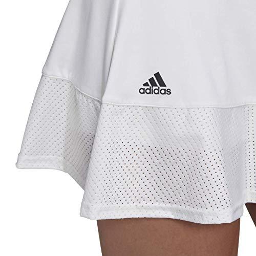 adidas Women's Tennis Match Skirt White Medium