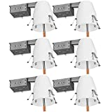 Sunco Lighting 6 Pack of 4'...