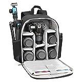 CADeN Camera Backpack Bag Professional for DSLR/SLR Mirrorless Camera Waterproof, Camera Case...