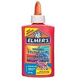 Elmer'S Colla Vinilica Colorata, Lavabile, Ottima per Realizzare Slime, Rosa, 147 ml, 1 Pezzo