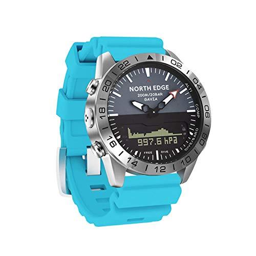 ZBY Reloj Inteligente Reloj Hombre a Prueba