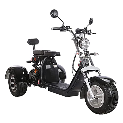 SUYUDD Ride Bycicle Triciclo Motocicleta 3 Ruedas Fatbike Moto Moto Trike Fat Tire Ebike Scooter Bicicleta Eléctrica - Golf Scooter Eléctrico para Adultos
