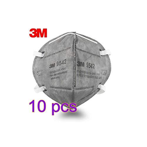 N95 Maschera al Carbone Attivo Filtro Antipolvere Coperchio Della Bocca Filtro Respiratore Anti-inquinamento Filtro Antipolvere Filtro 98% Muffola - Unisex Outdoor
