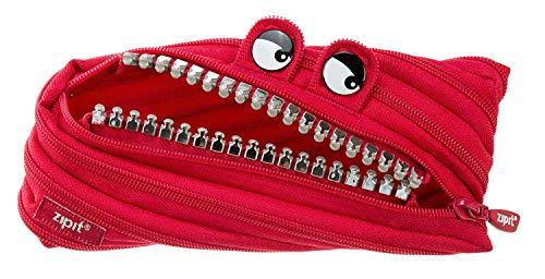 Zipit Grillz, ZTM-GR-RI, astuccio realizzato con ununica zip lunga, colore: rosso