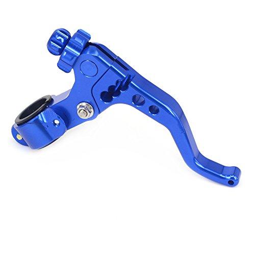 JFG RACING Billet MX Short Clutch Lever Perch For YAMAHA YZ125 YZ250 YZ250F YZ450F WR250F WR450F 2 fingers