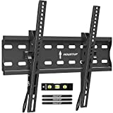 MOUNTUP Tilting TV Wall Mount Bracket for 26-55 Inch Flat Screen TVs/Curved TVs, Low Profile TV Wall...
