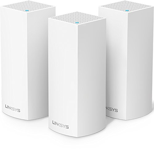 Linksys Velop Tri-Band Home Mesh WiFi System - WiFi...