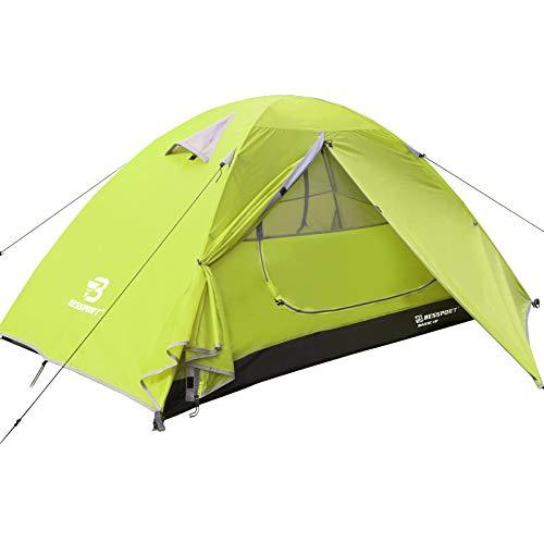 Bessport Tente Camping 1 Personne, Ultra Légère Tente Dôme Deux Portes,...