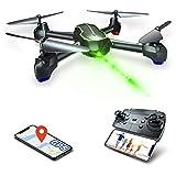 Asbww | Drone GPS - Drone con Telecamera HD 1080p per Principianti, Quadricotteri RC Droni FPV con GPS Funzione di RTH / 32 Minuti di Volo / Funzione Seguimi ( Due Batterie )