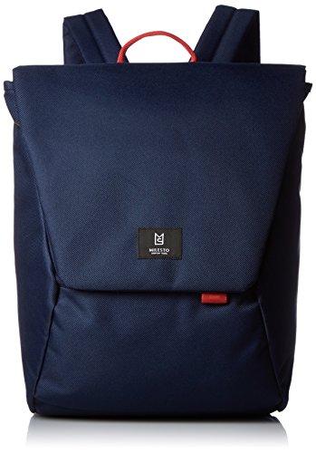 [ミレスト] バックパック Hutte キャリーオン 立体縫製 テフロン加工 コーデュラ MLS465-WH NV ネイビー