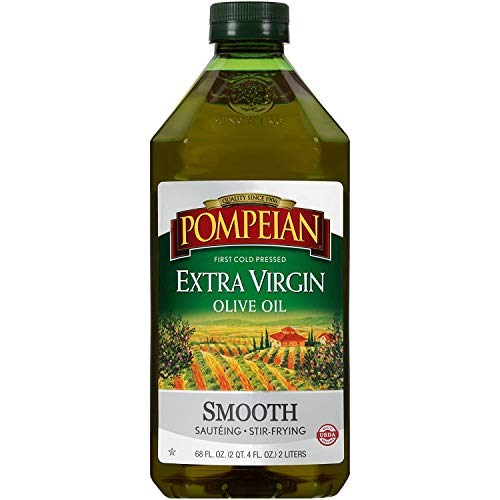 Pompeian Smooth Extra Virgin Olive Oil - 68 Ounce