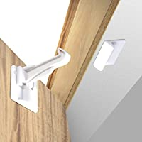 UPGRADED VERSION - taking to heart feedback from our customers, this new version features a longer hook arm that works even in kitchens with countertop overhangs. It also has greater adhesive surface area for greater security! EASY FOR ADULTS TO OPEN...
