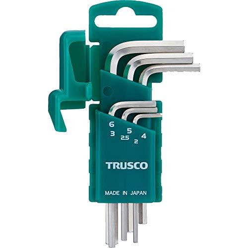 TRUSCO(トラスコ) 六角棒レンチ 両端いじり止め穴付 6本セット HW-TP6S
