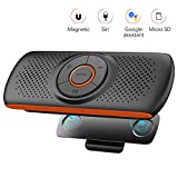 NETVIP Kit Mains Libres Bluetooth 4.2 Portable Voiture avec Instruction...