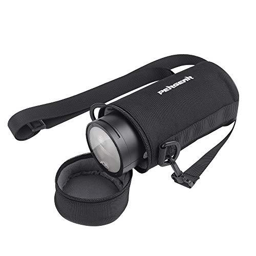 Pergear Portable Flash Case with Shoulder Strap for Godox AD200 PRO AD200PRO AD200 V1 V860II TT685 TT350 Flash Speedlights