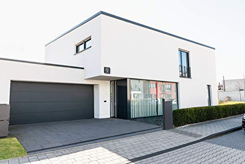 Frabox® Standbriefkasten NAMUR anthrazitgrau RAL 7016 & Edelstahl – Qualität Made in Germany! - 6