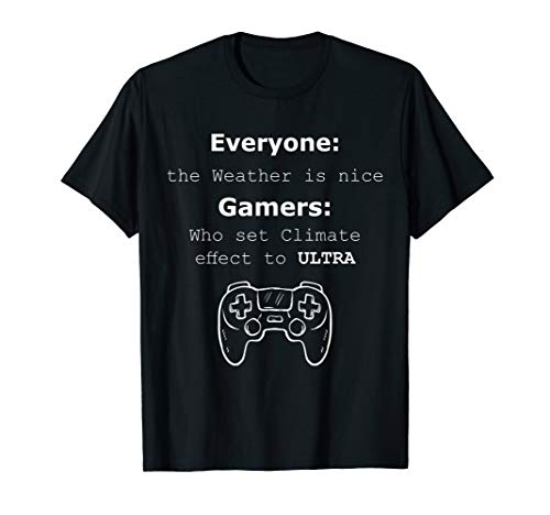 Funny All Day Gamers Video Game Graphics Sarcastic Quotes T-Shirt