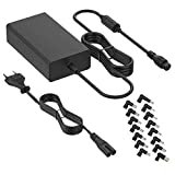 BENSN Chargeur d'ordinateur Portable Universel 90W avec connecteurs 15-20V...