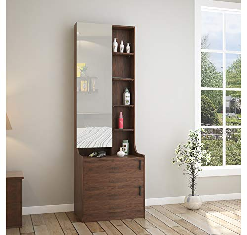@home by Nilkamal Serra Dresser with Mirror (Wenge)
