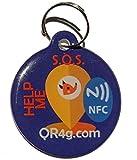 QR4G.com GPS Plaque d'identification intelligente pour animaux de compagnie...