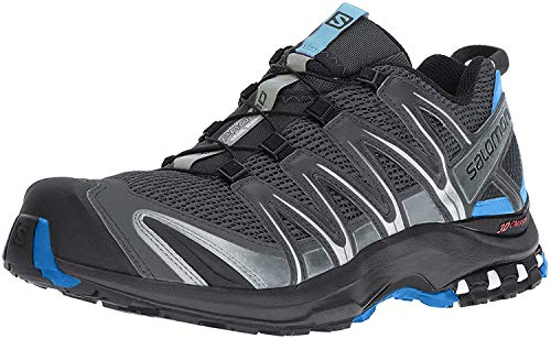 Salomon Xa Pro 3D, scarpe da trail running, da uomo, (Stormy Weather Black Hawaiian Surf), 45 1/3 EU