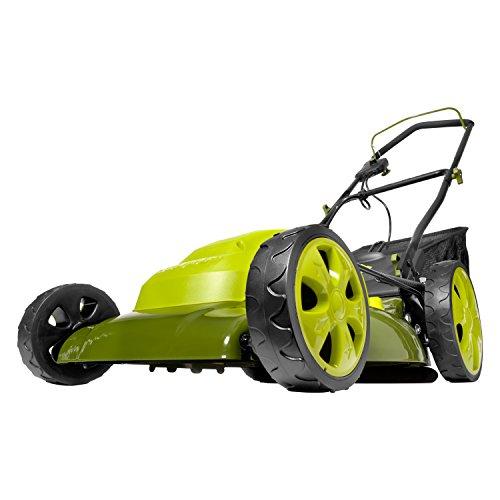 Sun Joe MJ408E-PRO Electric Lawn Mower, Green