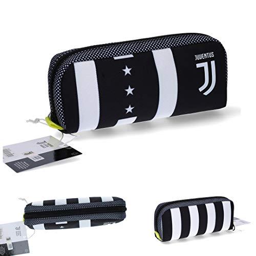 Juventus Bustina/Astuccio/Portapenne Seven - Collezione Scuola 2020/2021-100% Originale - 100%...