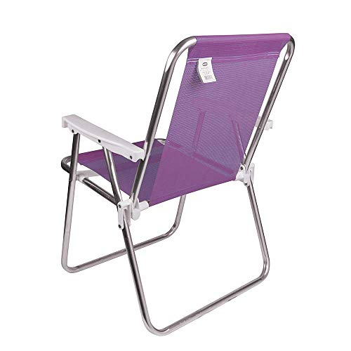 Cadeira Alta Mor Lilás Alumínio