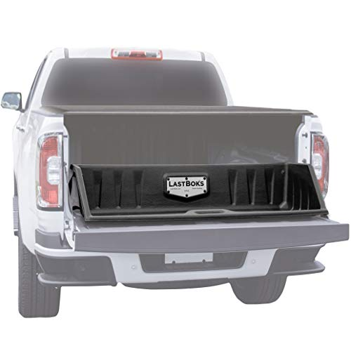 Last Boks Mid Size Truck Bed, Cargo Box Organizer, Slides Out onto Your Tailgate for Easy Access to Load or Unload Your Cargo, Truck Accessories Stores and Protects Your Cargo and Your Truck