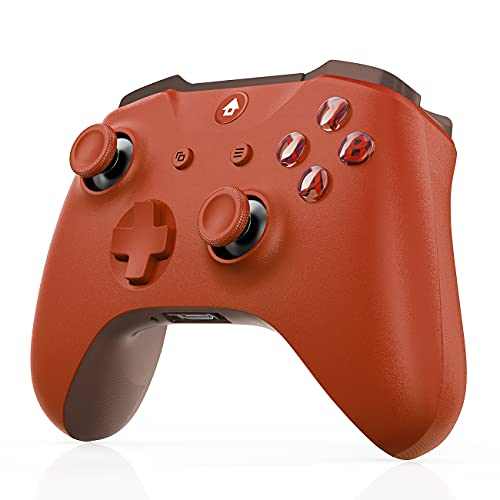 Xbox Wireless Controller for Xbox Series X&S/Xbox One/Elite/Windows 7/8/10/,JORREP Wireless PC Game Controller-RED