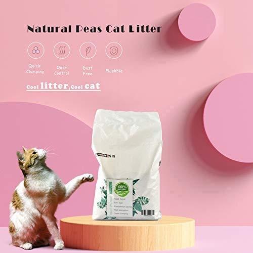 Flushable-Natural-Cat-Litter-Touchable-Eatable-Safety-Cat-Litter-6Lbs-Original