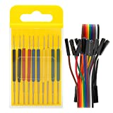 Micro IC Hook,10Pcs Micro IC Hook Clip Mini SOP SOIC Test Leads Clamp Tester Multimeter Adapter