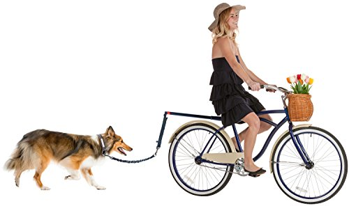 Paws & Pals Hands Free Bicycle Dog Leash for Bike...