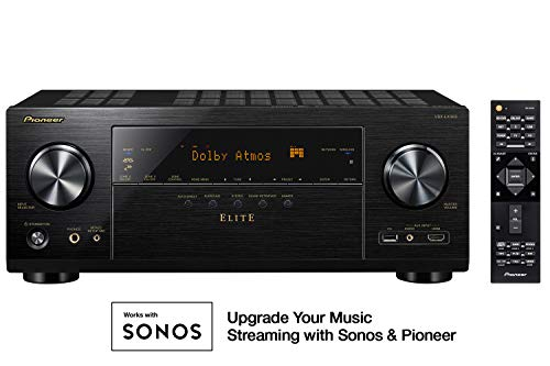 Pioneer VSX-LX303 9.2 Channel 4k UltraHD Network A/V Receiver Black