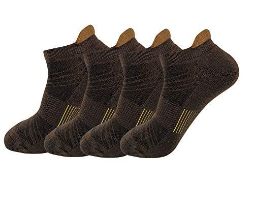 HaloYIYI - Calcetines deportivos para hombre, de algodón,...