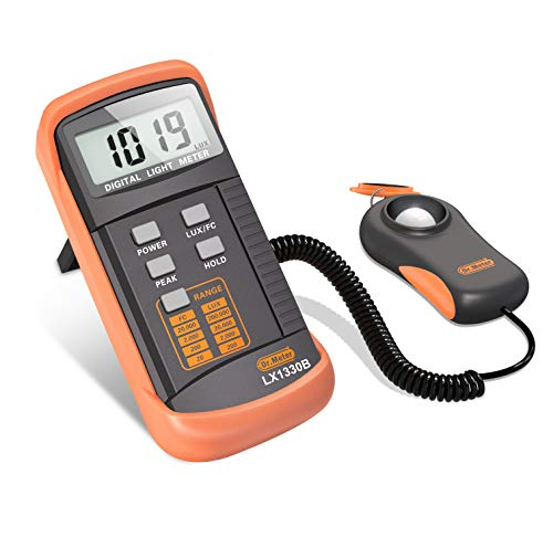 Dr.Meter 1330B-V Digital Illuminance/Light Meter,...