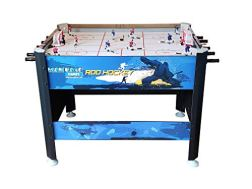 """Mancave 45"""" Elite Rod Hockey Table Game. Fast paced Head-to-Head Bubble Hockey Style Action. Great Size, Durability & Easier to Play Than Dome Hockey."""
