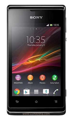 Xperia E (Black) SIMフリー 並行輸入品