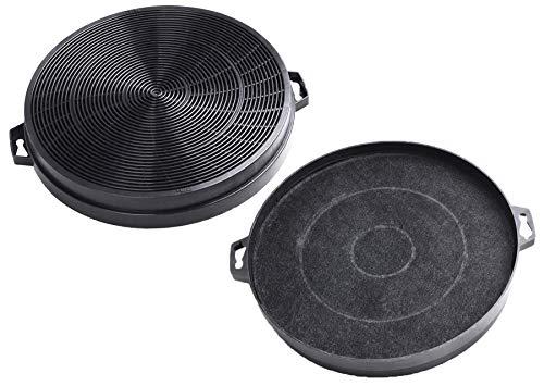 AquaHouse - 2 filtri a carbone compatibili per cappa aspirante Constructa, Whirlpool Wpro FAC539...