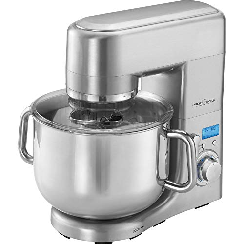 ProfiCook PC-KM 1096 XXXL Robot da cucina, Coppa in acciaio inossidabile da 10 litri, Alloggiamento...